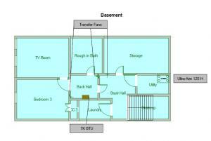 189 N Maple Basement layout